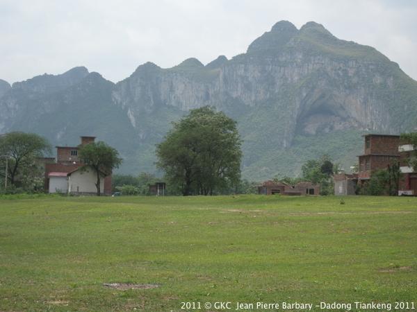 Une des 6 grottes de Liudong 六洞 (Pingtang 平塘 Guizhou)